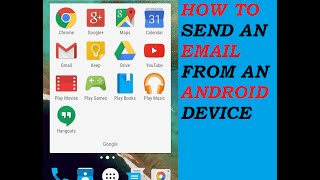 how to send an email on android really easy