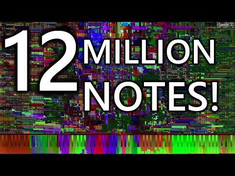 [Black MIDI] The 12 Days of Christmas - EXACTLY 12 MILLION NOTES! - A Collaboration with MBMS