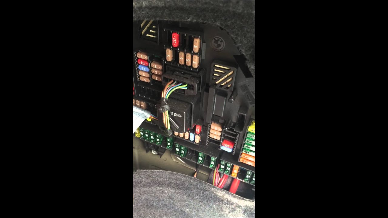 Bmw F10 Fuse Box - Trusted Wiring Diagram