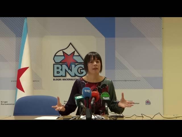 """Ana Pontón: """"Feijóo está levando a Galiza á irrelevancia política"""""""