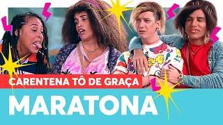 MARATONE a QUARTA SEMANA da Carentena Tô De Graça! | Carentena Tô De Graça! | Humor Multishow