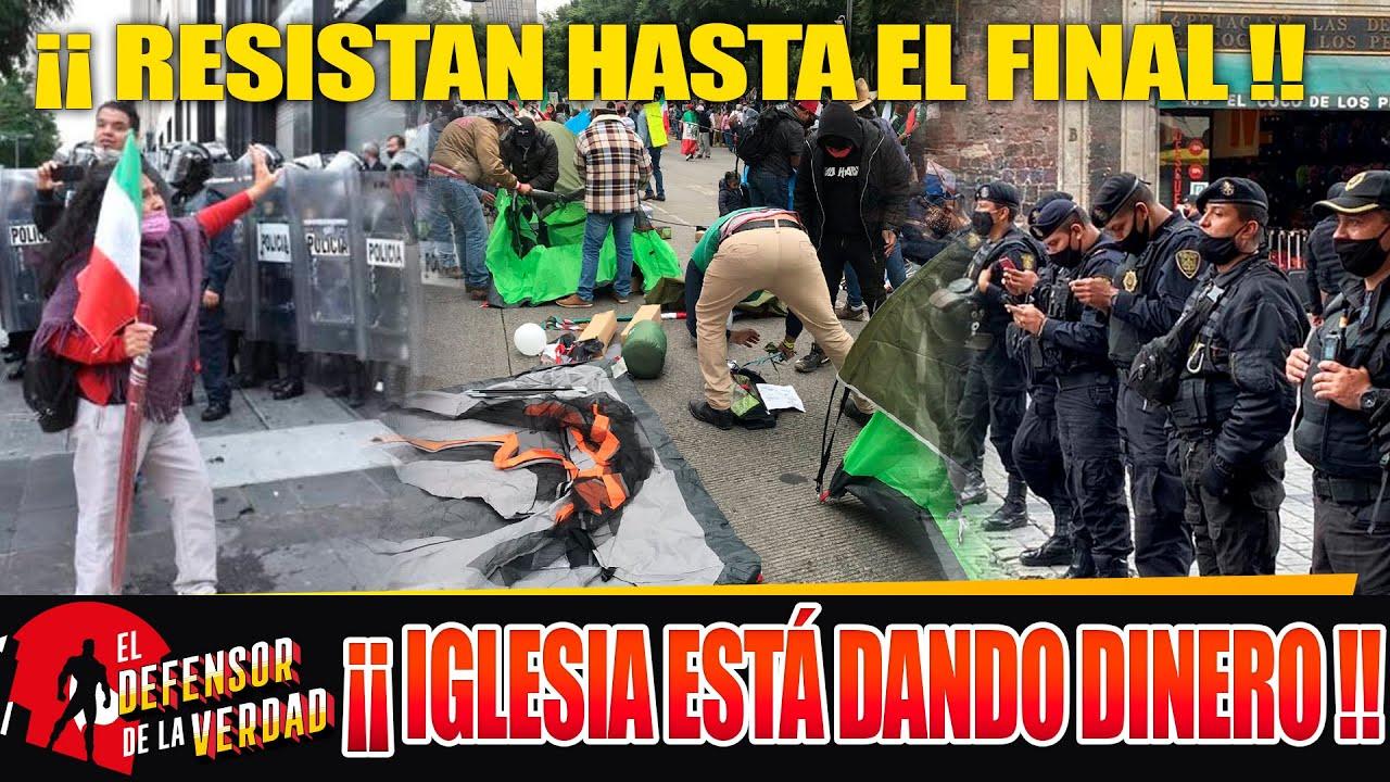 A Chiflar a Su Maíz!! Hombres De AMLO Aguantan y Evitan Toma De Palacio! Llegan Más Refuerzos FRENA!