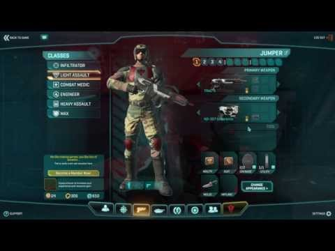 Planetside 2 Basic Training Rewards Tr La002 Youtube