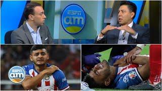 NEGLIGENCIA DE CHIVAS con lesión de Alexis Vega; puede requerir OPERACIÓN dice Dr. Meraz | ESPN AM