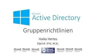 Windows Server 2016: Arbeiten mit Gruppenrichtlinien (GPO) in Active Directory