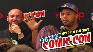 """Geek""–Constructing Fandoms panel at New York Comic Con 2015 