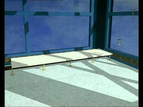 Suelo tecnico elevado para exteriores porcelanosa gru - Suelo tecnico exterior ...