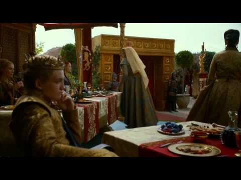 Olenna Tyrell Removes Poison Vial From Sansas Necklace