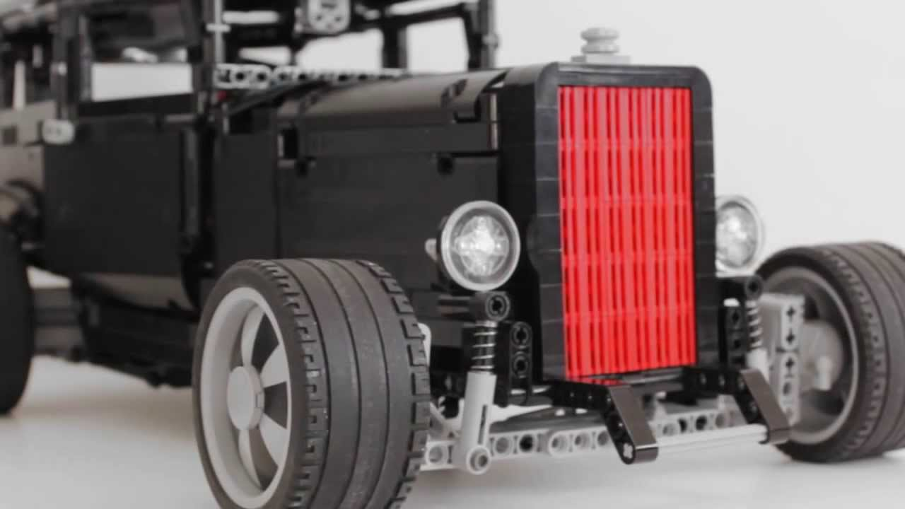 1932 ford hot rod lego technic youtube. Black Bedroom Furniture Sets. Home Design Ideas