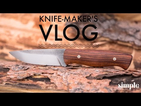 A day in the life of a knife maker - daily vlog