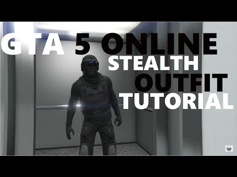GTA 5 Online Stealth Outfit Tutoral Military Outfits Online (READ DESCRIPTION)