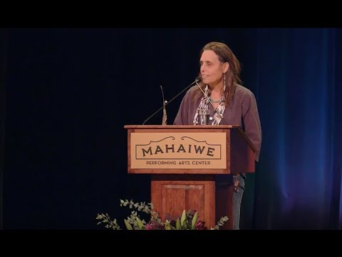 Winona LaDuke - 37th Annual E. F. Schumacher Lectures - YouTube