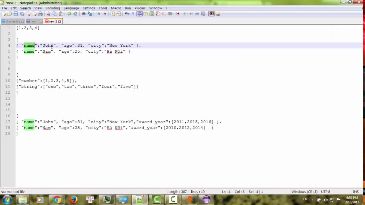 Bài 18: Json trong Python