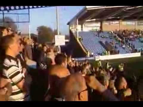 Notts County fans singing 'It's Just Like Watching Juve' at Chesterfield