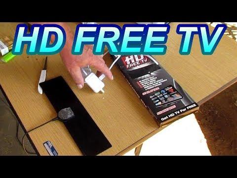 Winegard LNA 100 TV Amplifier an HD FREE TV Antenna  60 Mile Test