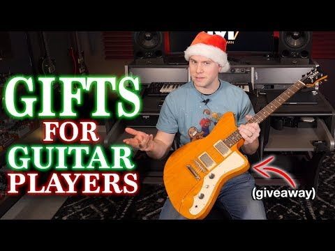 Gift Guide for Guitar Players