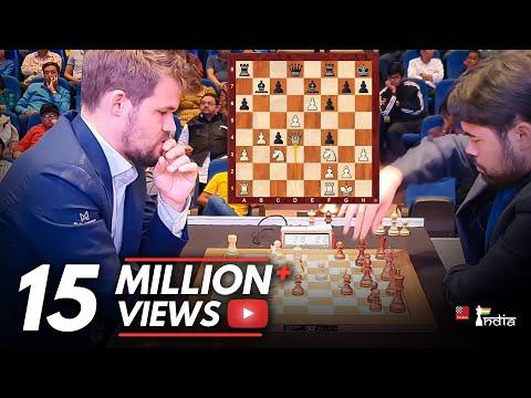When arch rivals meet- Magnus Carlsen vs Hikaru Nakamura
