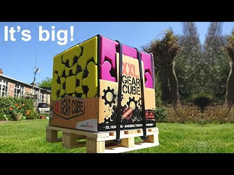 *New* Enormous XXL Gear Cube unboxing & Twisty Puzzles Snupps group update