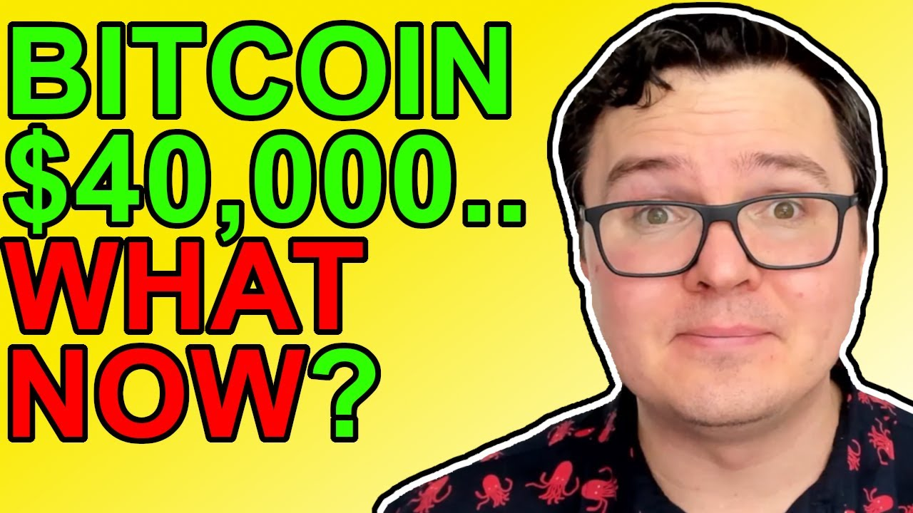 Bitcoin Struggles At $40,000, What Now? HUGE PAYPAL CRYPTO NEWS 2021!