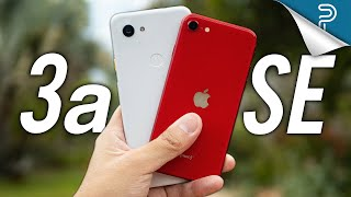 iPhone SE vs Google Pixel 3a: Tough one!