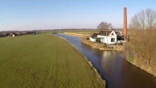 Het Putter Stoomgemaal Putten, Dji Phantom 2, Gopro, Nederland Drone (The Netherlands drone)