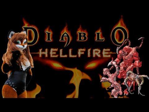 Diablo Hellfire - фурри против тентаклей