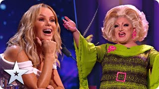 FAB.U.LOUS! Myra Dubois gets Amanda Holden on-stage for HILARIOUS duet | Semi-Finals | BGT 2020