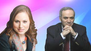 Judit Polgár vs Garry Kasparov - Russia vs Rest of the World - 2002