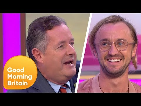 Piers Confesses to Tom Felton He's Never Seen a Harry Potter Film | Good Morning Britain