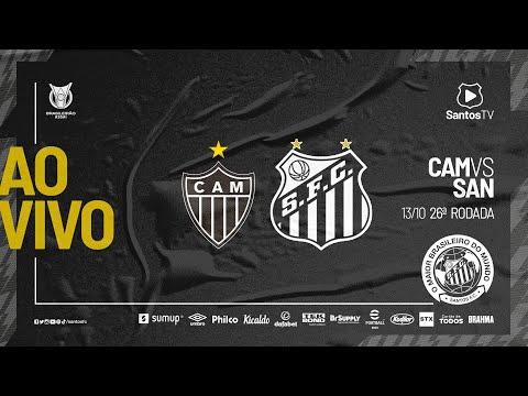 🔴 AO VIVO: ATLÉTICO-MG 3 x 1 SANTOS | BRASILEIRÃO (13/10/21)