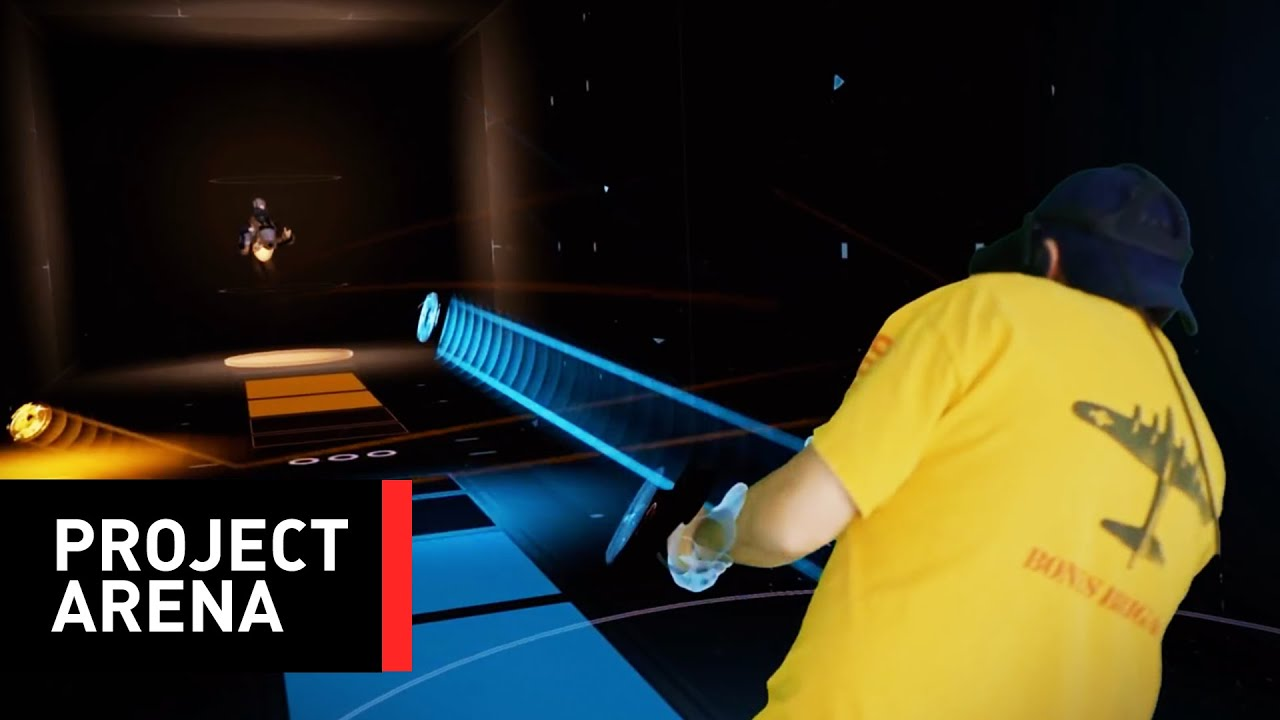 Project Arena: A Room-Scale Virtual Reality Arcade Game