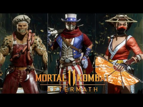 Mortal Kombat 11 Aftermath Summer Heat Skin Pack Preview Erron