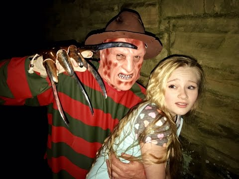 Thumbnail: Freddy Krueger from Nightmare on Elm street kidnaps Princess Ella from her dreams(New scary skit)