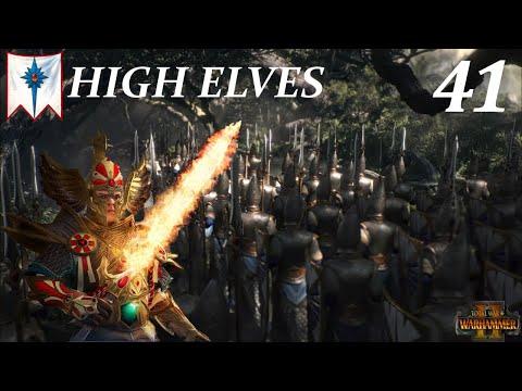 THE SKAVEN TIDE DESCENDS UPON US! Warhammer II - High Elves (PART 41)