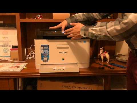 How to fix a paper jam in Samsung Xpress C480W