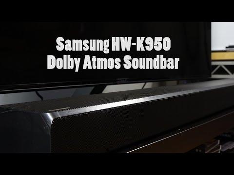 Samsung HW-K950 Dolby Atmos Soundbar Review: Cinematic Audio!!!
