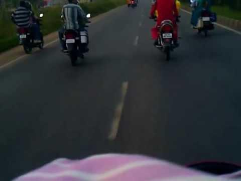 stunt man on bhubaneswar cuttack road