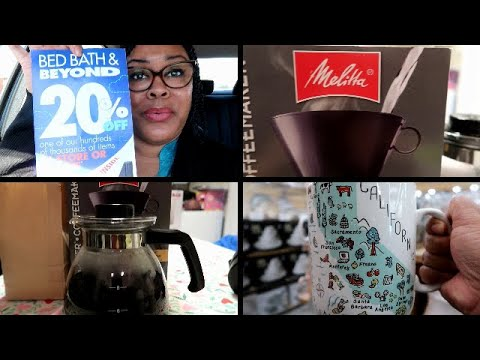 New Melitta Coffee Maker From Bed Bath And Beyond!!