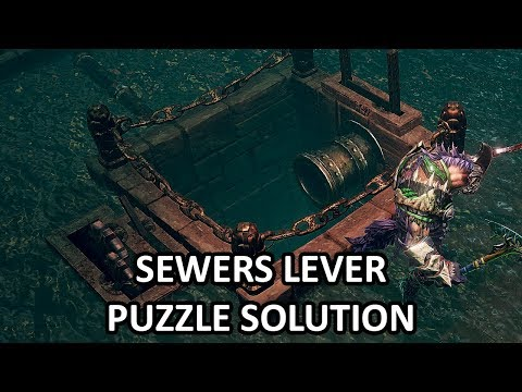 Shadows: Awakening - Sewers Lever Puzzle Solution