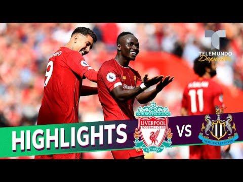 Liverpool vs. Newcastle United: 3-1 Goals & Highlights | Premier League | Telemundo Deportes