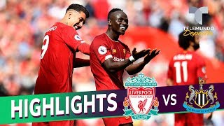 Liverpool vs. Newcastle United: 3-1 Goals & Highlights | Premier League | Telemundo Deportes