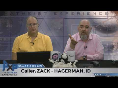 Faith is a Valid Form of Knowledge   Zack - Hagerman, ID   Atheist Experience 21.23