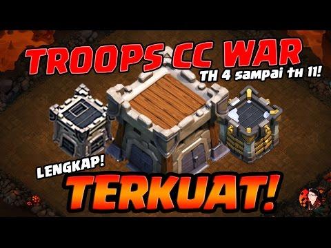 INI BARU TROOPS CC WAR YANG TERKUAT! - Coc Indonesia