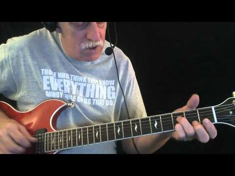 """How To Play """"The Sky Is Crying"""" - Blues Guitar Lesson"""
