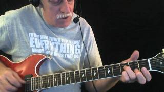 "How to Play ""The Sky is Crying"" - Blues Guitar Lesson"
