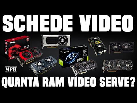 SCHEDE VIDEO: quanta RAM video serve per giocare al meglio?