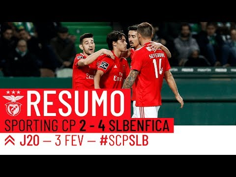 HIGHLIGHTS: SPORTING CP 2-4 SL BENFICA