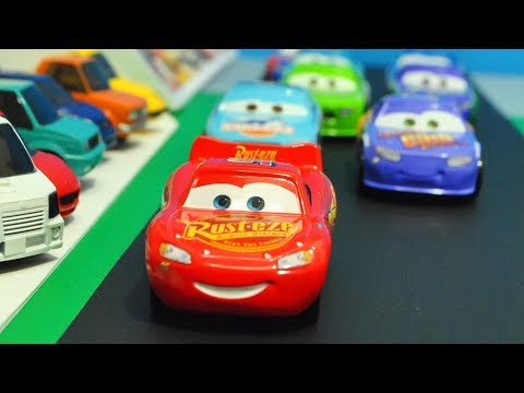 Movie Cars 3 : Beginning Race Reenactment - StopMotion