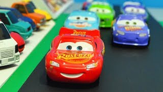 movie cars 3 beginning race reenactment stopmotion