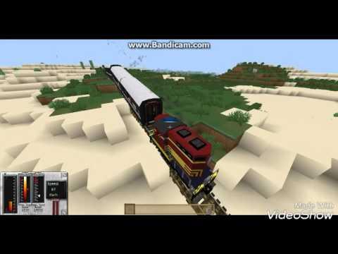 Мод Traincraft  для Майнкрафт